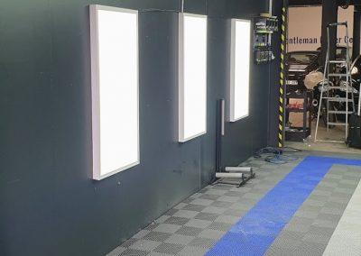 ElamELec - Installation de Luminaire Garage Mécanique