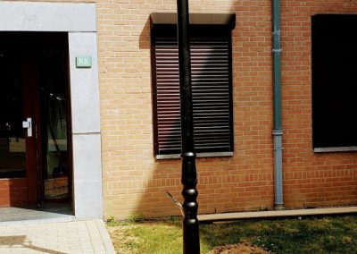 ElamELec - nstallation de luminaire sur rue